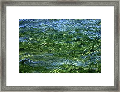 Lake Tahoe Abstract Framed Print by Carol Groenen