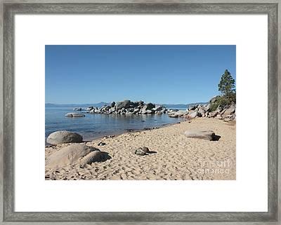 Lake Tahoe Morning Framed Print by Carol Groenen