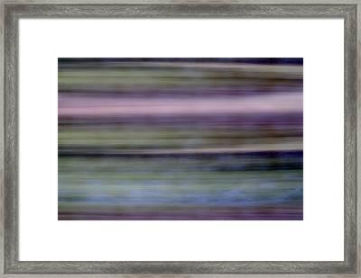 Lakes Edge Framed Print by Skip Willits