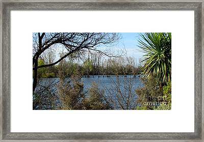 Lakes Framed Print by Joyce Woodhouse