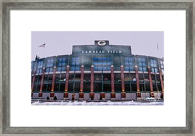 Lambeau  Framed Print by Tommy Anderson