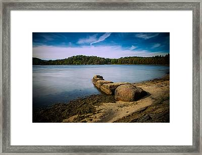 Lambertstranda Mandal Framed Print by Mirra Photography