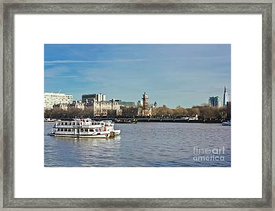 Lambeth London Framed Print by Terri Waters