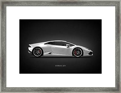Lamborghini Huracan Framed Print by Mark Rogan