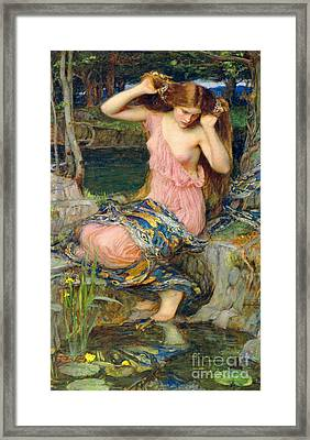 Lamia 1909 Framed Print by Padre Art