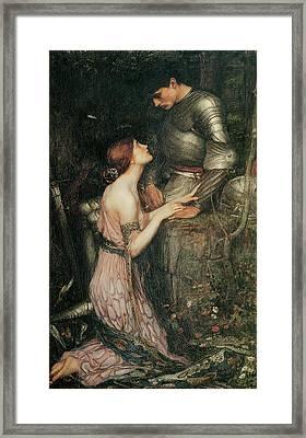 Lamia Framed Print by John William Waterhouse
