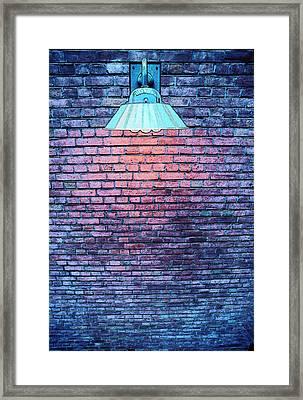 Lamp Light Framed Print by Paul Wear