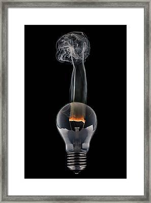 Lamp Framed Print by Sergey Tolmachev