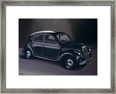 Lancia Ardea 1939 Painting Framed Print by Paul Meijering