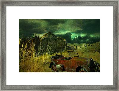 Land Rover Framed Print by Jeff Burgess
