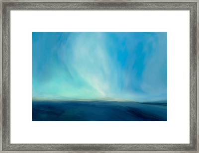 Land Sea And Sky Framed Print by LC Bailey