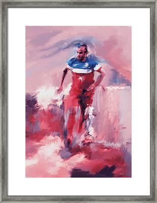 Landon Donovan 545 2 Framed Print by Mawra Tahreem