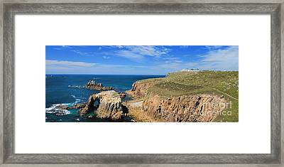 Lands End - Panoramic Framed Print by Carl Whitfield