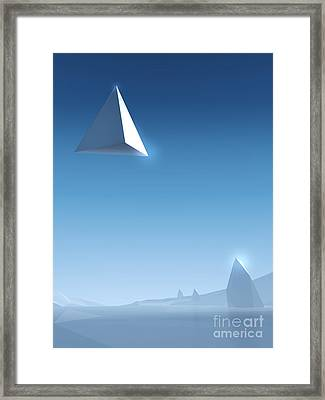 Landscape #2 Framed Print by Pixel Chimp