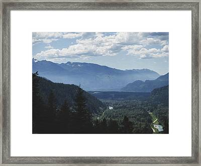 Landscape Art - Morning In The Valley Framed Print by Jordan Blackstone