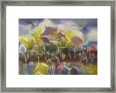 Landscape Fantasia Framed Print by Alfred Ng