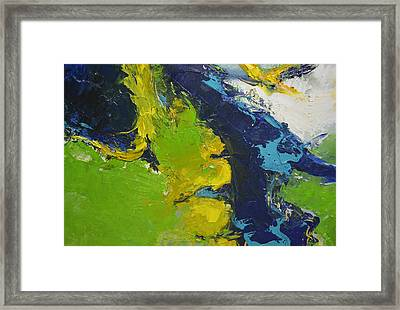 Landscsape From Above Framed Print by Christopher Chua