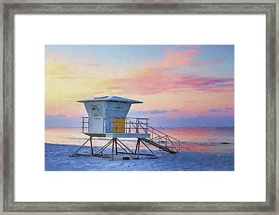 Langdon Beach Framed Print by JC Findley