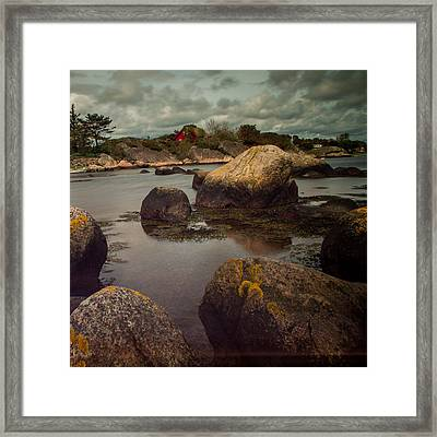 Langestrande Mandal Framed Print by Mirra Photography