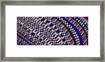 Language Framed Print by Lara Morrison