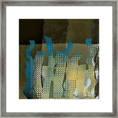 Languettes 02 - Ocr14c Framed Print by Variance Collections