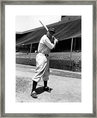 Larry Doby, Circa 1947 Framed Print by Everett