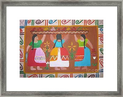 Las Comadres Framed Print by Sonia Flores Ruiz
