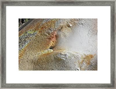 Lassen Volcanic National Park - Living Museum Of Vulcanism Framed Print by Christine Till