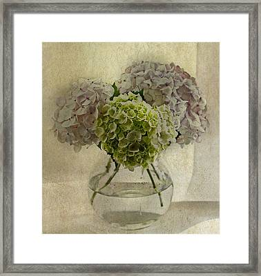 Last Bouquet Framed Print by Rebecca Cozart