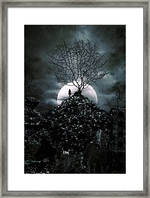 Last Day  Framed Print by Cambion Art