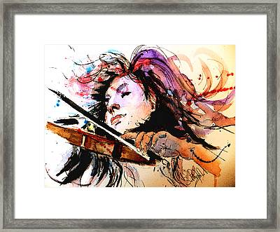 Last Few Bars Framed Print by Steven Ponsford