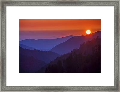 Last Light Framed Print by Andrew Soundarajan