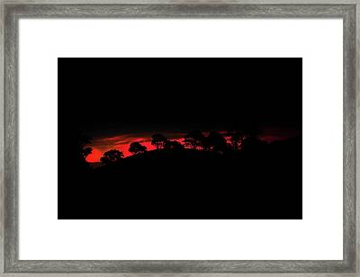 Last Light Framed Print by Az Jackson