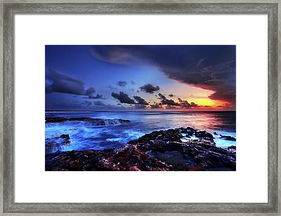 Last Light Framed Print by Chad Dutson