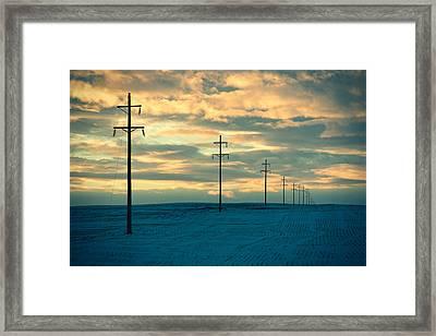 Last Light Framed Print by Todd Klassy