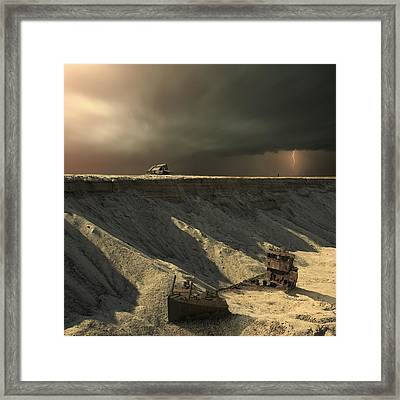 Last Outpost Framed Print by Michal Karcz