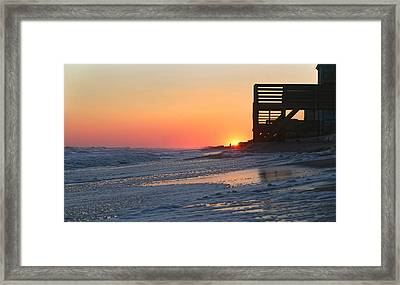 Wish You Were Here Framed Print by Betsy C Knapp