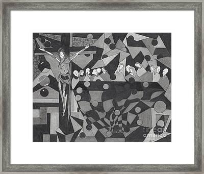 Last Supper Framed Print by Samir Patel