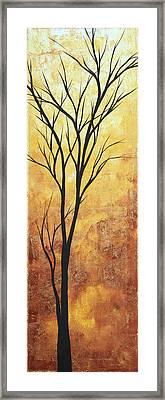 Last Tree Standing By Madart Framed Print by Megan Duncanson