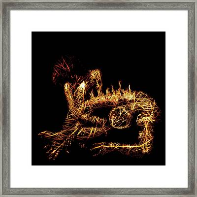 Late Regrets Framed Print by Marian Voicu