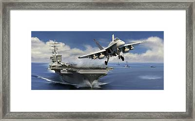 Launch Framed Print by Dale Jackson