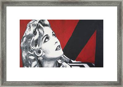 Laura Palmer Framed Print by Ludzska
