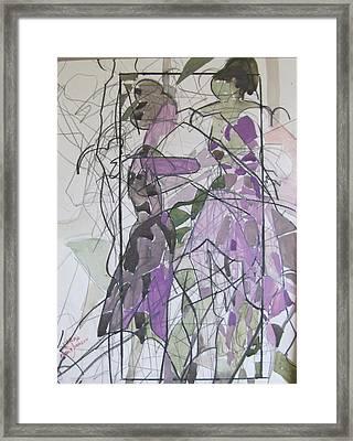 Lavender Ladies Framed Print by Carole Johnson