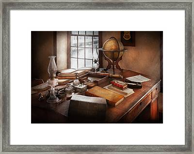 Lawyer - The Adventurer  Framed Print by Mike Savad