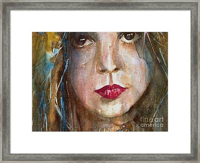 Lay Lady Lay Framed Print by Paul Lovering