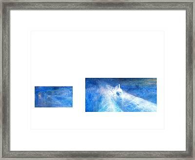 Layered 21 Turner Framed Print by David Bridburg
