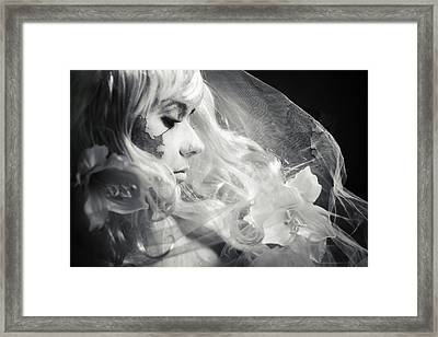 Layers Framed Print by Cambion Art