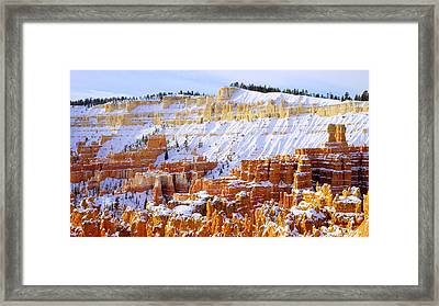 Layers Framed Print by Chad Dutson