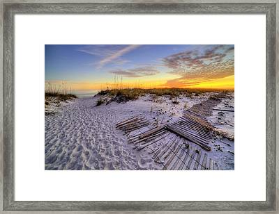 Laying Out On Pensacola Beach Framed Print by JC Findley
