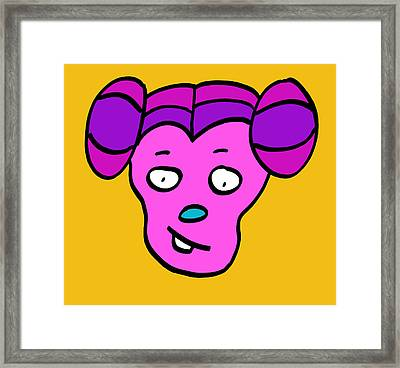 Layla Framed Print by Jera Sky